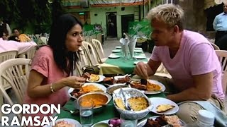 connectYoutube - Real Indian food in Delhi - Gordon Ramsay