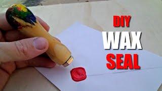 How to make a custom wax seal stamp