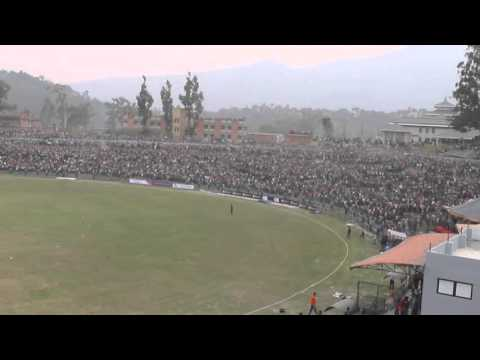 Winning moment of the Nepal Cricket Team | Against Namibia at Kirtipur | WCL | 1st Match |