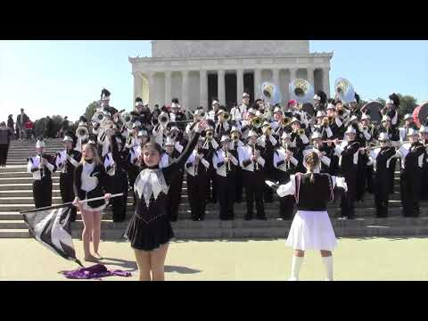 Albert Gallatin Colonial Marching Band - Lincoln Memorial - 3/10/18