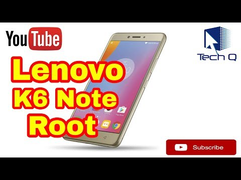 How to ROOT LENOVO K6 NOTE without PC - YouTube
