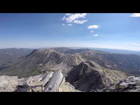 Wilson Peak Panorama - 10,705' - Madison Range - Montana