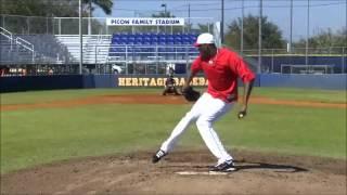 170キロ投手 チャップマン投球練習