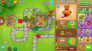 Gambar cover Bloons TD 6 - Monkey Meadow - Chimps - Black Border (7.0 patch)