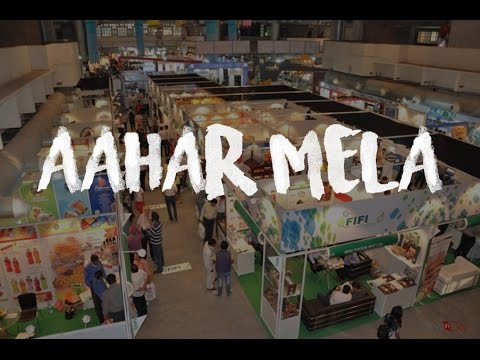 AAHAR Mela 2017 Delhi (Pragati Maidan) | The International Food & Hospitality Fair | Vlog#2