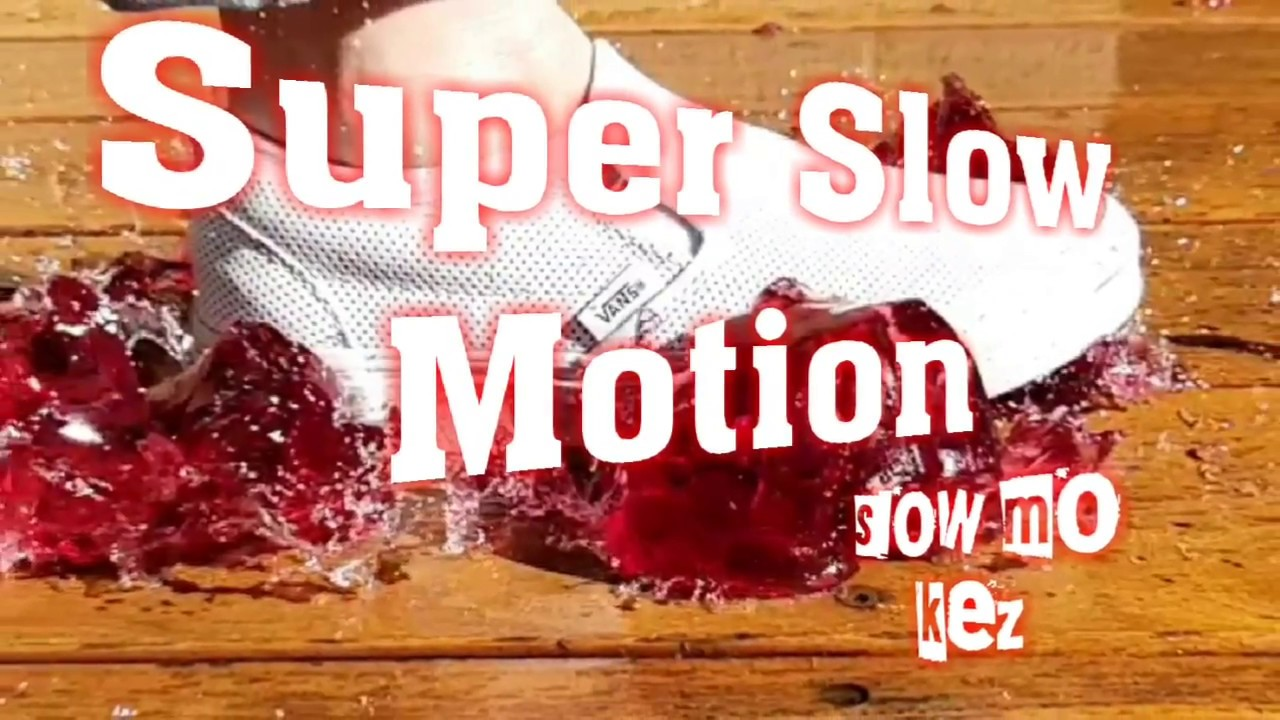 Super Slow Motion Jelly Fun using Samsung Galaxy S9 Pluse 960fps - Slow Mo Kez