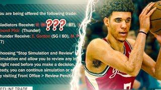 NBA 2K18 Athens Gladiators MyLeague Ep. 3   CRAZY TRADE & OPENING GAME!!!