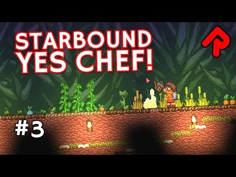 Farm of a Thousand Crops! | Let's play Starbound Yes Chef! e