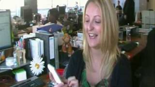 3 staff show off their HTC Hero apps