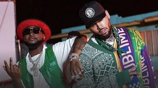 Watch How Chris Brown Came Through For Davido In LA At The Good Time Tour ??✊?
