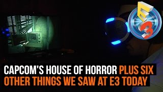 Capcom's house of horror and 6 other things we learnt at E3 - Day 1