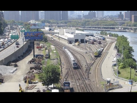 [HD] Amtrak Empire Service Detours In New York City
