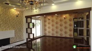 BEAUTIFUL SOLID CONSTRUCTED BRAND NEW BUNGALOW IS AVAILABLE FOR SALE IN DHA PHASE 6 LAHORE