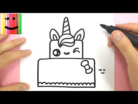 how-to-draw-a-cute-unicorn-cake