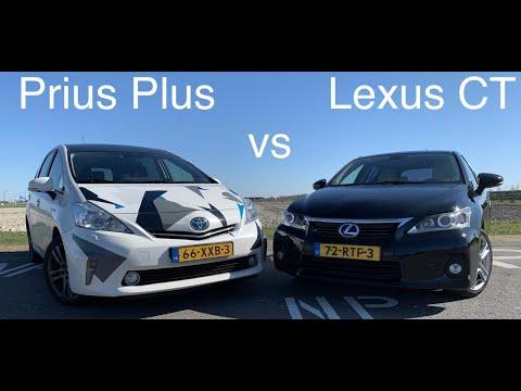 Битва Б/У бестселлеров: Toyota Prius Wagon vs Lexus CT200 с большим пробегом.