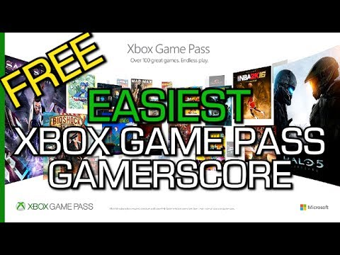 Easiest Xbox Game Pass Games For Gamerscore Free Trial W