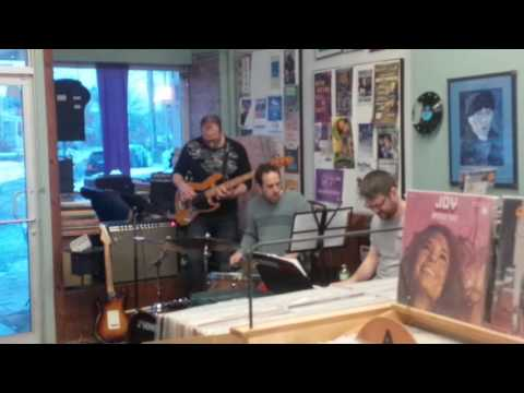 The Crooked Jazz Trio at the Record Centre 20/11/16