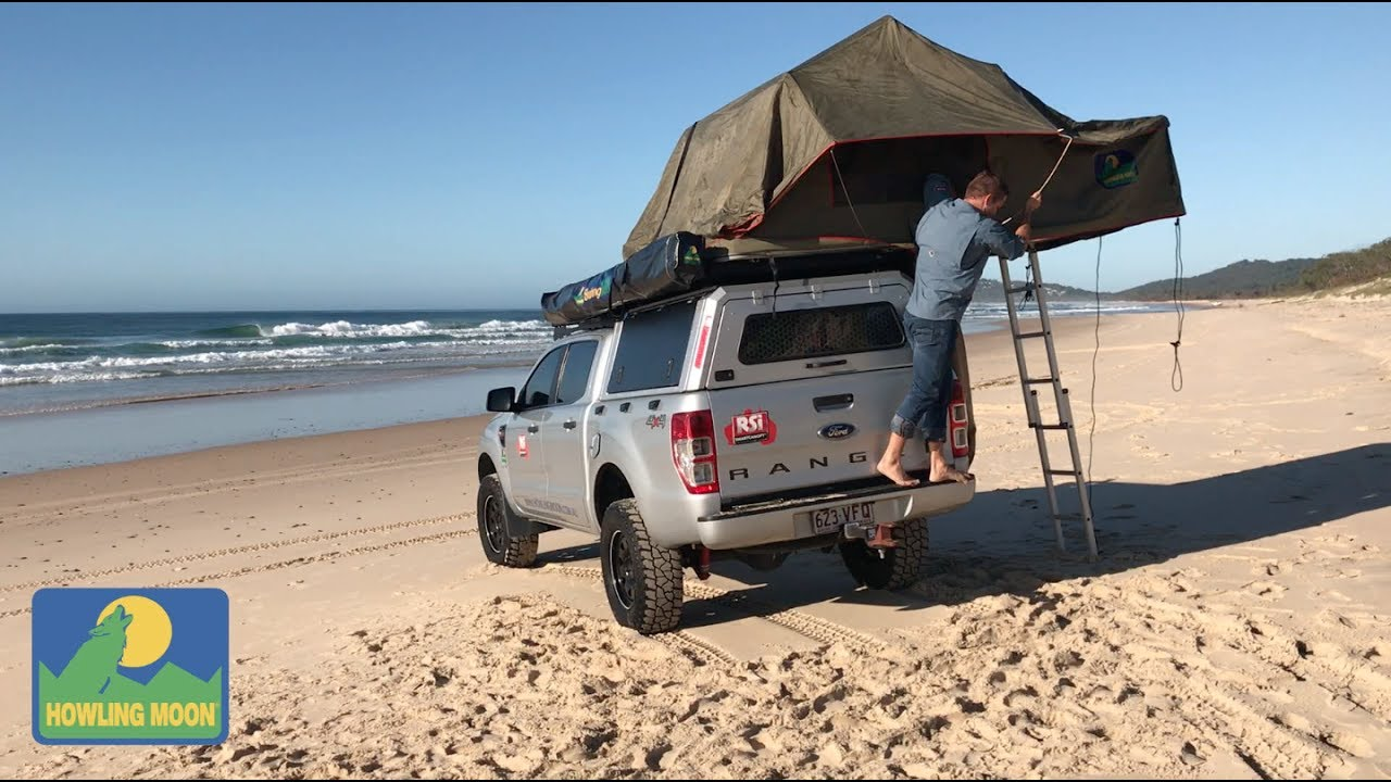 Howling Moon Rooftop Tent Setup Youtube
