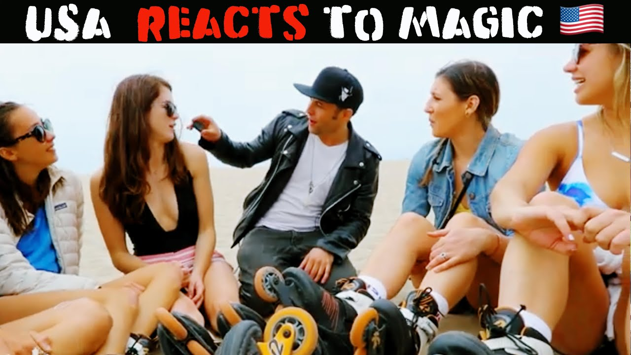 Los Angeles Reacts To Magic 2.0 -Julien Magic
