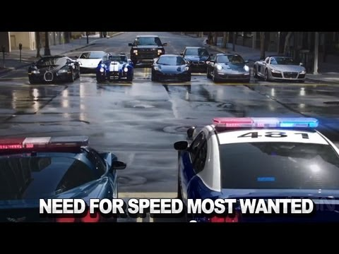 Need for Speed Most Wanted  Live Action Trailer