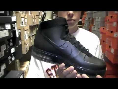 Stickie213 - Nike Air force One Foamposite Black