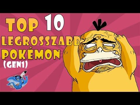 TOP 10 Legrosszabb (Gen1) Pokémon videó letöltés