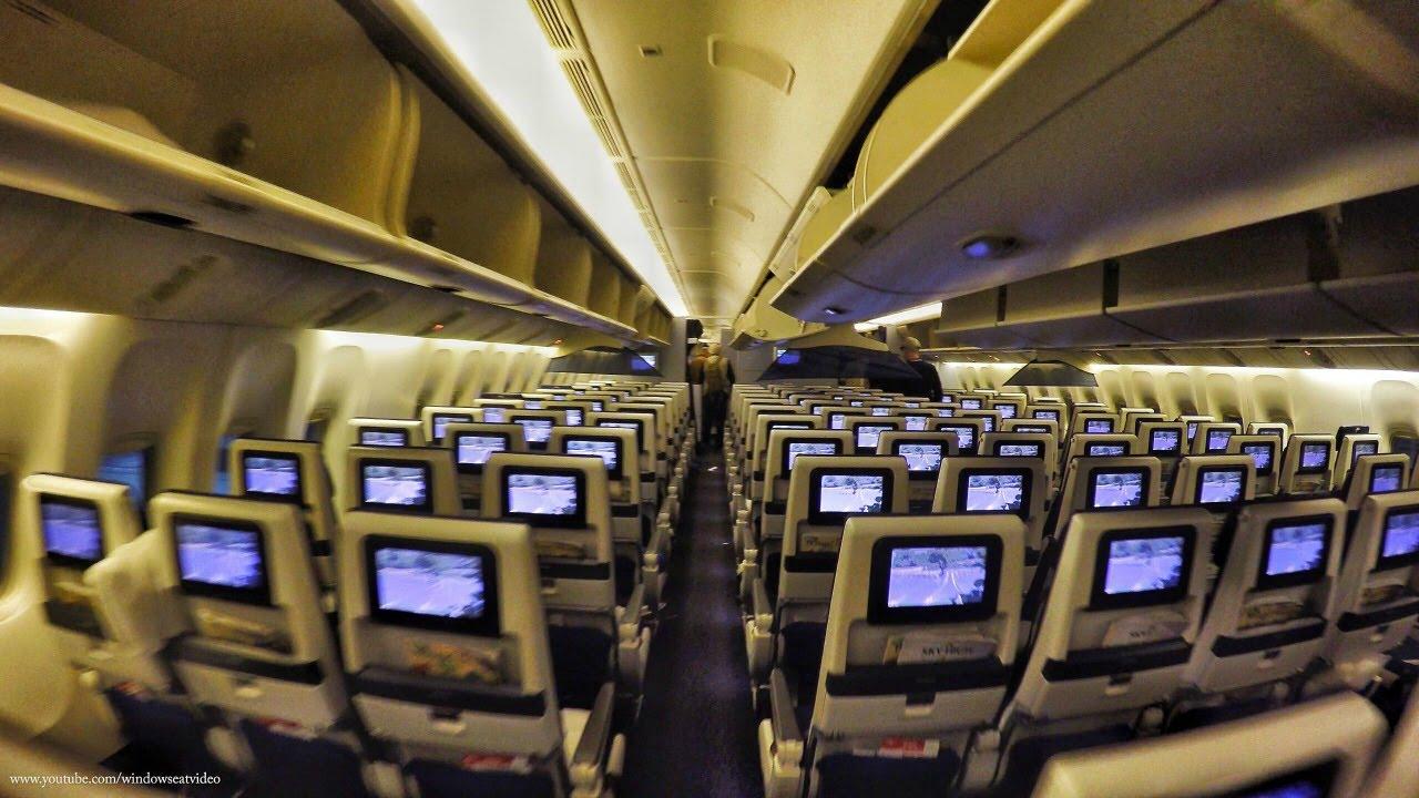 KLM Boeing 777 Economy...