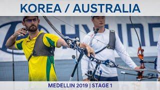 Korea v Australia – recurve men's team gold | Medellin 2019 World Cup S1