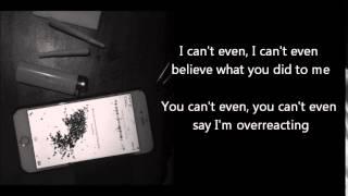 The Neighbourhood - I Can't Even ft. French Montana LYRICS