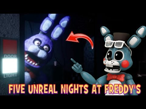 THE ANIMATRONICS ARE SOOO AGGRESSIVE!! || Five Unreal Nights At Freddy's Legacy Edition thumbnail