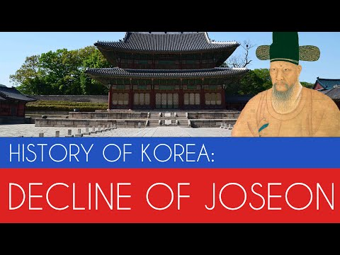 Decline of Joseon Korea