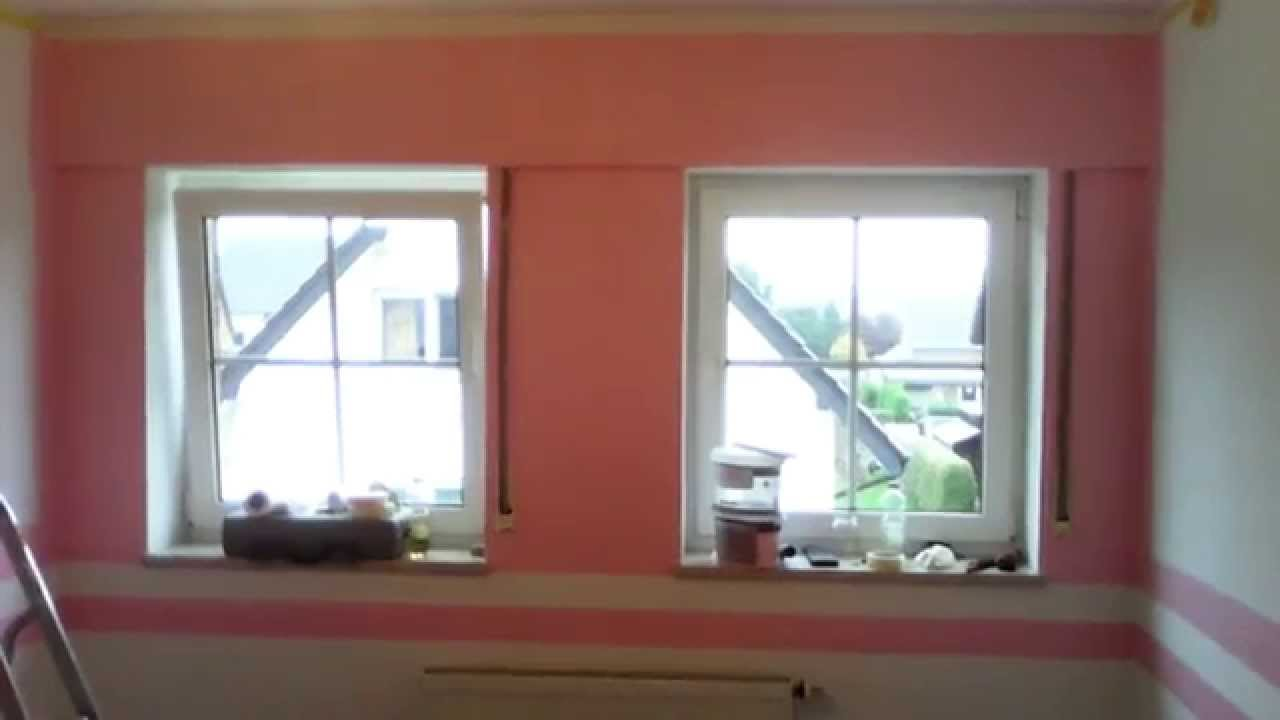 Exklusives Baby Kinderzimmer-Design in Rosa streichen - YouTube | {Design kinderzimmer 18}