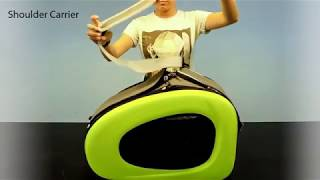 IBIYAYA 5 in 1 Combo EVA Blue Pet Carrier Stroller Assembly Guide