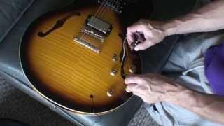 Quick Repair Gibson/Epiphone Dot ES 335 Fallen Input Jack