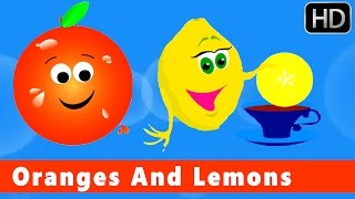 Oranges And Lemons | Nursery Rhymes For Kids