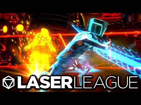 DODGE THE LASERS! - Laser League Gameplay
