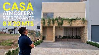 CASA CON ATMÓSFERA REFRESCANTE  | 8X20 MTS | OBRAS AJENAS