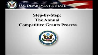 The TIP Office's Fiscal Year 2017 Annual Grants Process Tutorial: Stage One