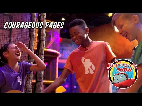 Courageous Pages - The Superbook Show