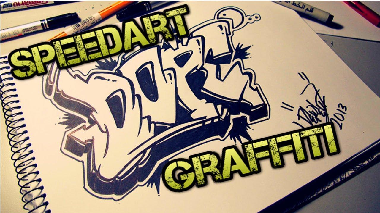 Speedart dope graffiti