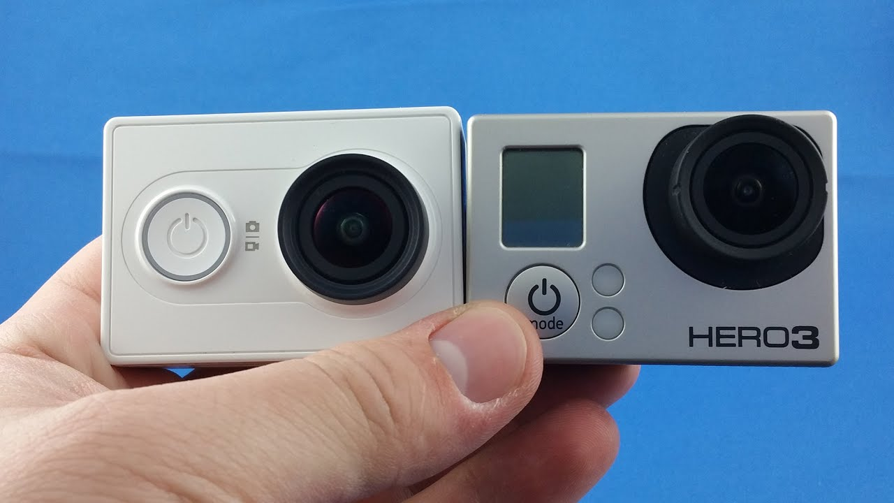 Xiaomi yi vs gopro hero action camera comparison cameralah com gopro - Xiaomi Yi Vs Gopro Compare 4k From Aliexpress Com Unboxing