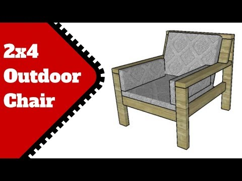 2x4 Outdoor Chair Plans Free
