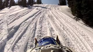 Snowmobiling Iron Mountain, California Amador County Sierra Nevadas - Part 9