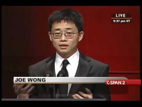 Joe Wong- 2010 RTCD- Part 1 of 2