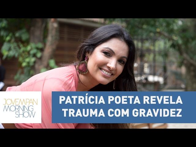 Patrícia Poeta revela trauma com gravidez nos EUA