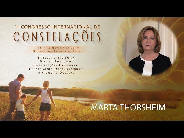 Marta Thorsheim | 1º Congresso Internacional de Constelações