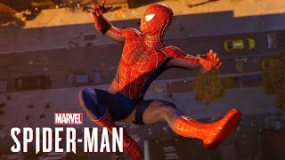 Marvel's Spider-Man PS4 - All Story Cutscenes With Webbed Suit!