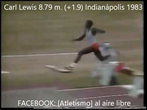 CARL LEWIS 8 best jumps. From 8.72 to 8.87.