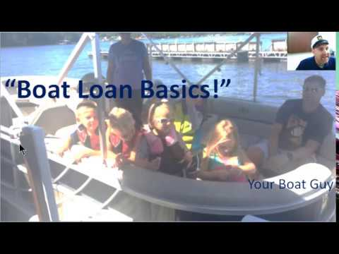 Boat Loan Basics, Insider Secrets to Marine Lending for Boat Buyers
