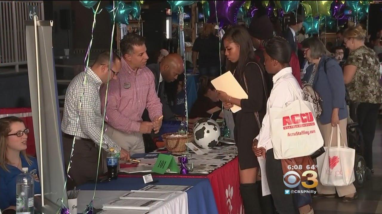 Camden County Job Fair Draws Thousands Of Job Seekers